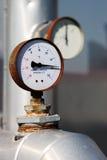 Зонд/манометр термометра Стоковые Фото