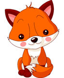 Зоопарк потехи. Fox Стоковая Фотография