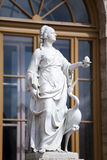 Зоркость статуи (предосторежение), дворец и парк сложное Gatchina, Санкт-Петербург, Россия, XVIII столетие стоковое изображение