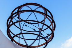 Зодиак глобуса Стоковое фото RF