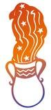 зодиак знака водолея Стоковая Фотография