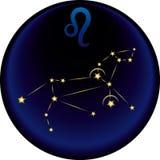 зодиак знака leo Стоковая Фотография RF