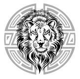 зодиак колеса знака leo Стоковая Фотография