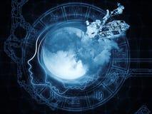 Зодиак луны Стоковая Фотография