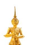 Золотая гигантская статуя Стоковая Фотография