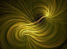 Золотая желтая предпосылка конспекта обоев Стоковые Фотографии RF