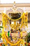 Золотая индусская святыня Стоковые Фотографии RF