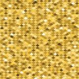Золотая картина масштаба рыб безшовная Стоковые Фото