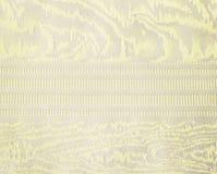 Золотая картина ткани парчи флористического орнамента Стоковое фото RF