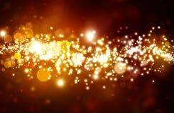 Золотая красивая абстрактная предпосылка Стоковое Изображение RF