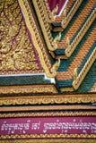 Золотая крыша виска Стоковые Изображения RF