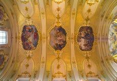 Золотая крыша собора Стоковые Изображения RF