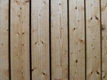 Золотая ООН-выстроганная деревянная стена Стоковое Фото