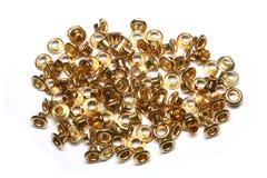 Золотая отверстия Стоковые Фотографии RF