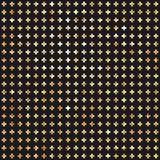 Золотая перекрестная безшовная предпосылка картины Битник Стоковые Фотографии RF