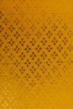 Золотая предпосылка картины ткани. Стоковое фото RF