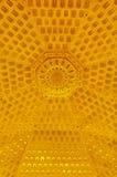 Золотая предпосылка пагоды Leifeng Стоковое фото RF