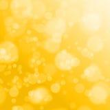 Золотая предпосылка рождества Стоковые Изображения