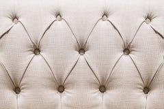Золотая предпосылка ткани capitone бархата, ретро стиль checkered Стоковые Фотографии RF