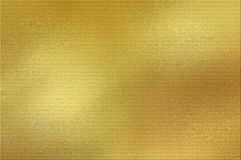 Золотая предпосылка фольги Стоковое Фото