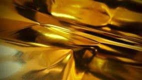 Золотая предпосылка фольги Стоковое Изображение