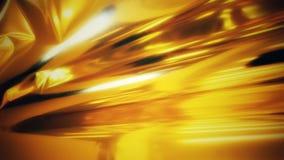 Золотая предпосылка фольги Стоковая Фотография