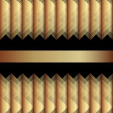 Золотая предпосылка, элемент для вашего дизайна Стоковое Изображение RF