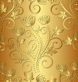 Золотая предпосылка Стоковая Фотография
