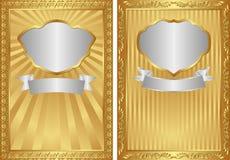 Золотая предпосылка Стоковая Фотография RF
