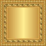 Золотая рамка Стоковое Изображение