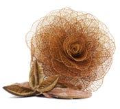 Золотая роза Стоковое Фото