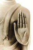 Золотая рука Будды Стоковая Фотография RF