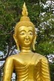 Золотая статуя Будды стоковое изображение