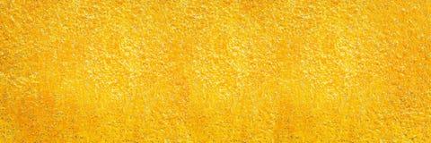 золотая текстура цемента для картины и предпосылки Стоковая Фотография RF