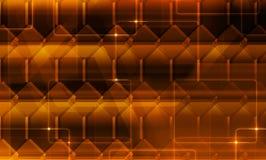 Золотая текстурированная предпосылка Стоковое Изображение
