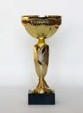 Золотая чашка спорт иллюстрация штока