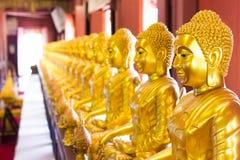 Золота Buddhas стоковые фотографии rf