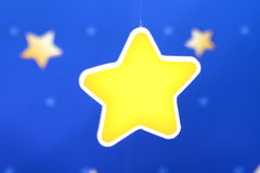 золотистая звезда Стоковые Изображения RF