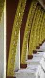 Золотистая пагода на Wat Pha-Что Luang в Vientian.This будизм Стоковая Фотография RF