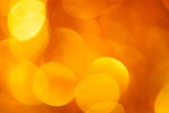 Золотистая предпосылка круга Стоковые Фото