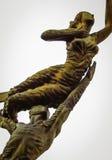 Золотистая статуя Стоковая Фотография RF