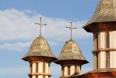 Золотистая церковь Стоковое Фото