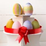 Золотистое пасхальное яйцо Стоковое фото RF