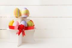 Золотистое пасхальное яйцо Стоковые Фотографии RF