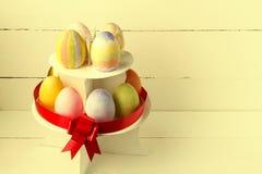 Золотистое пасхальное яйцо Стоковое Фото