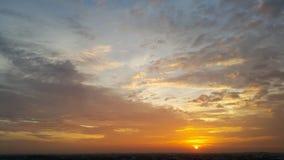 золотистое светлое утро Стоковое Изображение RF