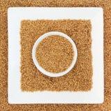 Золотистое семя льна Стоковое Изображение RF