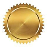 Золотистое уплотнение Стоковые Фотографии RF