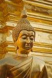 Золотистый Будда Стоковое Фото