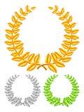 Золотистый венок Стоковые Фотографии RF
